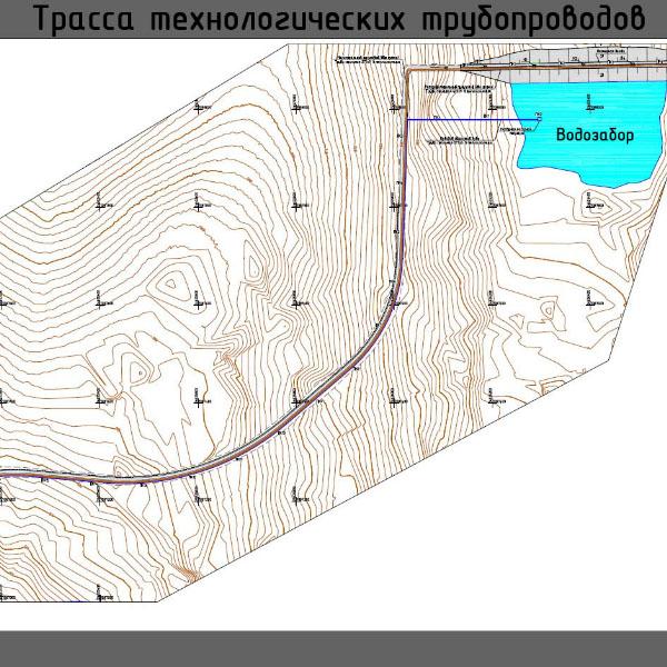 Тарынский ГОК, месторождение «Дражное»: технологический трубопровод
